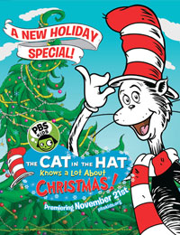 cat in the hat knows alot about christmas